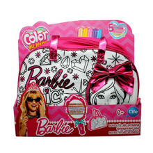 CIFE Color Me Mine Diamond The Weekender Bag Barbie 86601