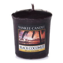 YANKEE CANDLE Votive - Black Coconut - 49gr
