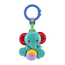 FISHER PRICE Newborn Elephant Rattle 6BLW37 6BLW37