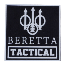 Tactical Series Velcro Patch 9 x 9 cm - Beretta Tactical - Black Silver