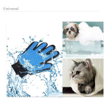 Pet Grooming Glove Massage Brush Deshedding Tool for Gog Cat