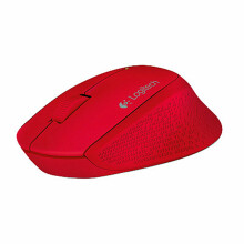 LOGITECH M280 USB Wireless Mouse - Red