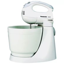 [DISC] PANASONIC Hand Mixer 200 W/ With Bowl MK-GB1WSR
