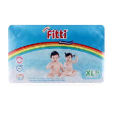 FITTI Popok Tape Rainbow Jumbo Pack XL34
