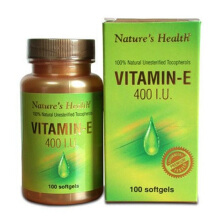 NATURE'S HEALTH Vitamin E 400 IU 100 Softgels