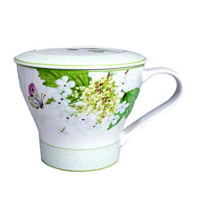 ST. JAMES Mug Set Charlotte Green 12 Oz