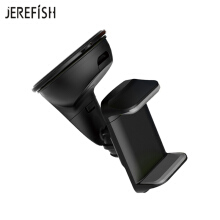 JEREFISH Dash Car Mount Universal Cell Phone Suction Cup Mount Windshield Dashboard Mobile Phone Holder Sticky Car Window Mount