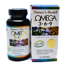 NATURE'S HEALTH Omega 3-6-9 45 Softgels