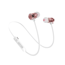 KYM X3 2018 Bluetooth Earphone Wireless Bluetooth Headset Magnetic Metal Earphones Stereo Sports In-Ear Headset with Mic iPhone