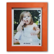 THE OLIVE HOUSE - MDF Photo Frame 8R Orange