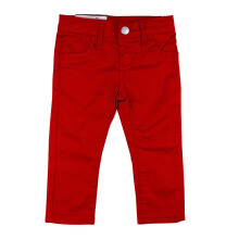 KIDDIEWEAR Khaki Pants Red with Suspender 1KB7472