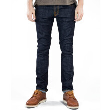 NUDIE JEANS Tube Tom Unisex - Org. Twill Rinsed