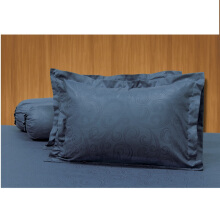 ELEGANCE Sprei Set Navy Blue / 180 x200