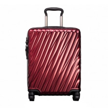 TUMI 19 Degree Polycarbonate Continental Carry-On Bordeaux [228661BRD]