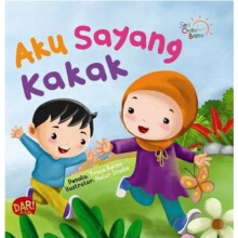 Scb: Aku Sayang Kakak  (Board Book)-New - Triani Retno A. 9786024203283