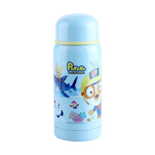 PORORO Thermos Water Bottle Small - Blue