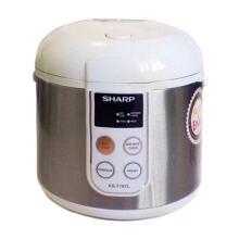 SHARP Touch Panel Rice Cooker 1.8L KS-T18TL-ST