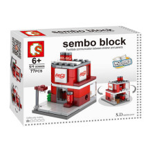 SEMBO BLOCK Coke House Small SD6606
