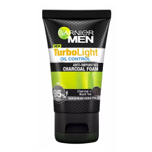 GARNIER Men Charcoal Black Foam 50ml