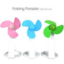 Fashion Folding Fan USB Mini Portable Cooler Cooling Fans