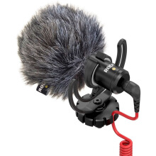 Rode VideoMicro Compact On-Camera Microphone Black