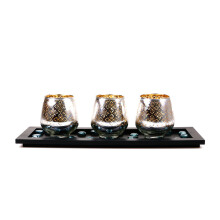 BLOOM & BLOSSOM Candle Holder Set CLW924 - Gold