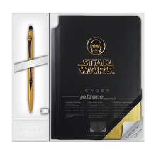 CROSS STAR WARS C-3PO Jotzone Journal and Click Pen Gift Set