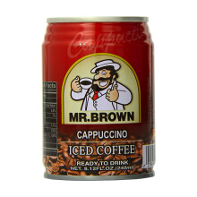 MR. BROWN Cappucino Iced Coffee 240ml