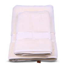 TERRY PALMER Premium Towel Bath & Travel 500g Set of 2 - Ivory/SET2TP1001-50NN-NYO