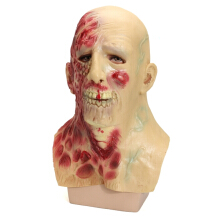 World War Scary Devil Zombie Halloween Horror Fancy Dress Latex Full Face Mask