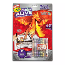 CRAYOLA Color Alive Mythical Creatures 951046