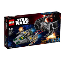 LEGO Star Wars Vader's TIE Advanced vs  A-Wing Starfighter 75150