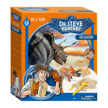 GEOWORLD Dinosaurs Collection - Dig & Play - Triceratops