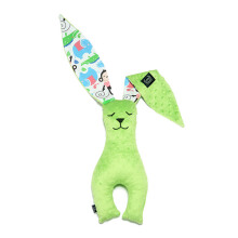 LA MILLOU Minky Bunny Doll - Happy Monkey Green BN01G