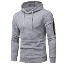 BESSKY Mens' Long Sleeve Plaid Hoodie Hooded Sweatshirt Tops Jacket Coat Outwear -