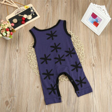 BESSKY Cute Toddler Kid Baby Girl Boy Clothes Cotton Sleeveless Romper Jumpsuit Outfits_