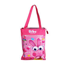 DIBO Handcarry Bag Design 2 Bunny Pink 13,5 Inchi
