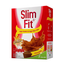 SLIM & FIT Powder Milk Chocolate 6 X 54 Gr