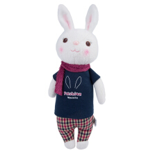 Metoo Babies Plush Toy Doll  Cute Stuffed Cartoon Bunny Design