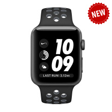 APPLE Watch Series 2 Nike+ 38mm Space Gray Aluminum Case with Black/Cool Gray Nike Sport Band