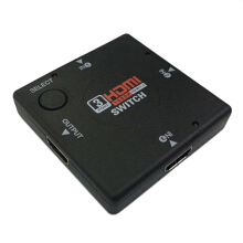 mini Switcher definition video 3 Port HDMI Switch Splitter for HDTV PS3 1080P
