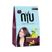 NYU Hair Color Burgundy 30ml