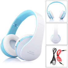 BESSKY Wireless Bluetooth Foldable Headset Stereo Headphone Earphone for iPhone_