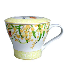 ST. JAMES Mug Set Charlotte Yellow 12 Oz