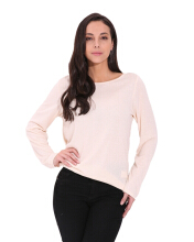 ZANZEA Long Sleeve T-Shirt - White