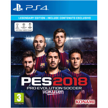 SONY PS4 Game Pro Evolution Soccer 2018 Legendary Edition - Reg 2