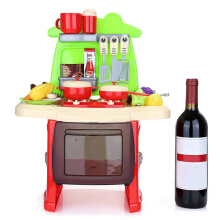 ranxian Luxury Simulation Kitchen Cooking Tools Kit for Kids (Red)