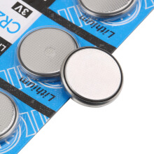 5 pcs 3V CR2032 3 Volt Coin Button Cell Lithium Battery for Watches Clocks