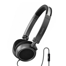 EDIFIER P690 Comfortable Noise Isolating Over-Ear Headphones With Microphone and Volume Controls HiFi Earbuds - Grey