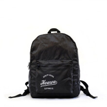 Ninenine Packable Backpack Black